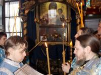 Храмовый праздник в честь иконы Божией Матери Иверская в храме Всех Святых