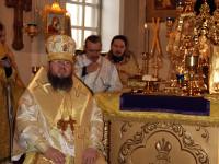 Торжество Православия. Божественная Литургия в кафедральном соборе Вознесения Господня