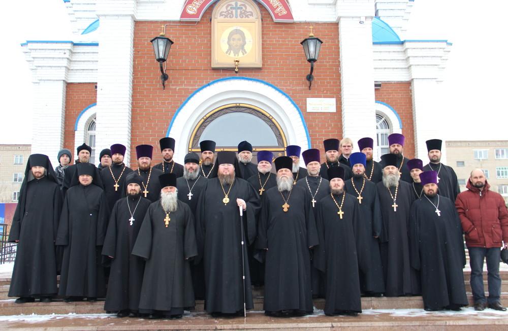 13  марта 2015 года прошло собрание духовенства Петропавловской и Булаевской епархии