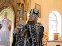 Епископ Петропавловский и Булаевский Владимир возглавил Литургию Преждеосвященных Даров в кафедральном соборе Вознесения Господня