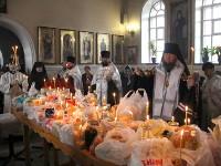 В кафедральном соборе Вознесения Господня правящий Архиерей отслужил Парастас
