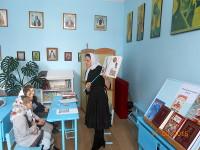 День православной книги в воскресном классе Саумалкольского храма «Введение во Храм Пресвятой Богородицы»