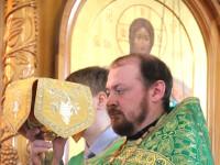 В день праздника Входа Господня в Иерусалим епископ Петропавловский и Булаевский Владимир совершил Божественную Литургию в кафедральном соборе Вознесения Господня