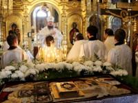В Великую субботу епископ Петропавловский и Булаевский Владимир совершил Вечерню в соединении  с Литургией святителя Василия Великого