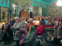 Праздничное Пасхальное богослужение в кафедральном храме г. Булаево