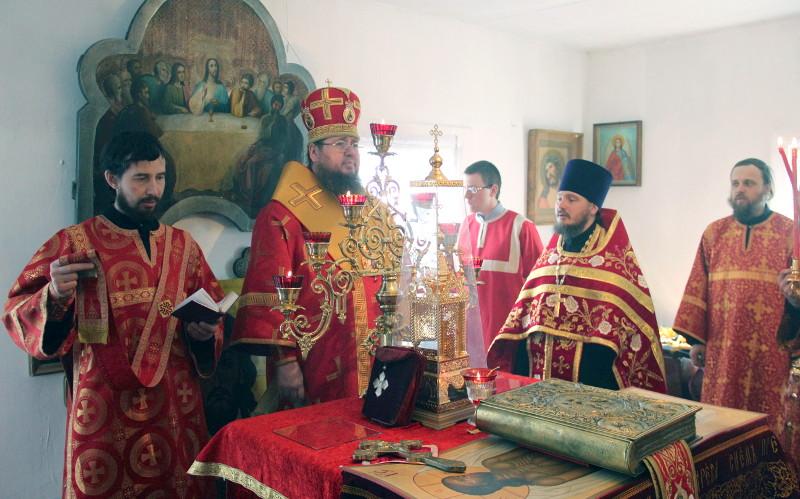 В светлые пасхальные дни епископ Петропавловский и Булаевский совершил паломническую поездку по сельским приходам Мамлютского и Жамбыльского районов