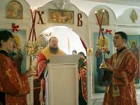 В светлые пасхальные дни епископ Петропавловский и Булаевский совершил паломническую поездку по сельским приходам Мамлютского и Жамбылского районов
