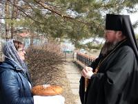 Владыка Владимир отслужил Пасхальный молебен в селе Петровка
