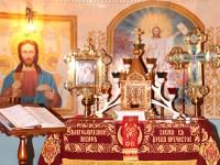 В селе Новоишимское епископ Петропавловский и Булаевский Владимир возглавил Пасхальную Утреню