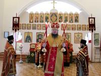 Божественная Литургия в Свято-Никольском храме села Чистополье