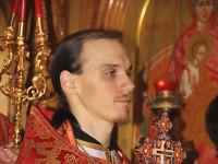 В неделю «о самаряныне» Владыка Владимир совершил Литургию в Вознесенском кафедральном соборе Петропавловска