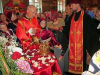Никольский кафедральный храм г. Булаево посетила великая православная святыня