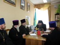 Заседание епархиального совета Петропавловской и Булаевской епархии