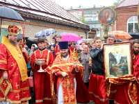 Архиерейское богослужение в храме Всех Святых
