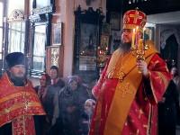 Отдание праздника Пасхи Архиерейским чином в храме Всех Святых