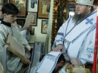 Божественную Литургию в храме Всех Святых возглавил епископ Петропавловский и Булаевский Владимир