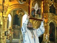 Отдание праздника Вознесения Господня Архиерейским чином в храме Всех Святых города Петропавловска