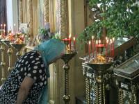 Праздник Пресвятой Троицы. Божественную Литургию в кафедральном соборе Вознесения Господня возглавил Преосвященнейший Владимир, епископ Петропавловский и Булаевский