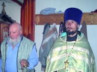 Праздник Пресвятой Троицы. Всенощное богослужение и Божественная Литургия в Казанском храме г. Мамлютка