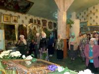 Праздник Святой Троицы в городе Таиынша