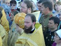 Освящения храма во имя Архистратига Божия Михаила поселка Качар Костанайской области