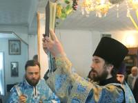В празднование Боголюбской иконы Божией Матери епископ Петропавловский и Булаевский совершил Божественную Литургию в селе Боголюбово
