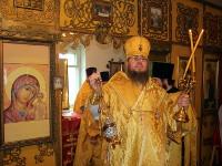 Богослужение в храме св. вмч. Димитрия Солунского в с. Новокаменка