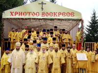Святии первоверховние апостоле Петре и Павле, молите Бога о нас