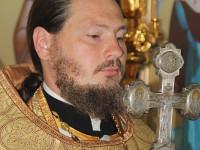 Епископ Петропавловский и Булаевский Владимир совершил Божественную Литургию в храме священномученика Мефодия епископа Петропавловского в городе Петропавловске