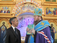 Крестный ход с иконой Божией Матери «Знамение» Абалацкая