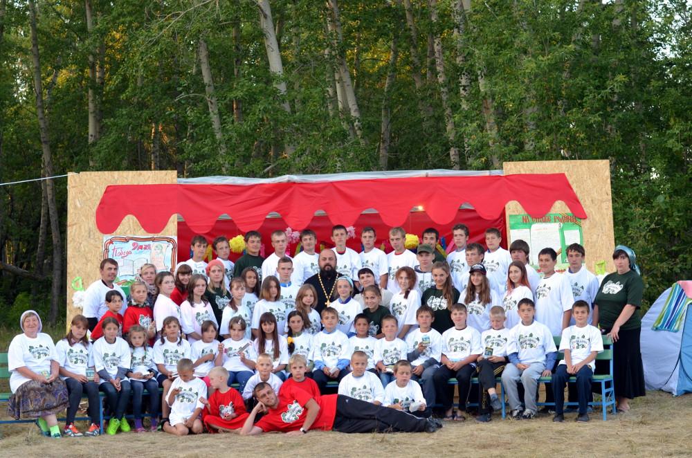 Епархиальный палаточный лагерь «Малый Радонеж»