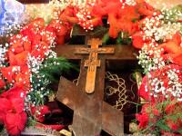 Праздник Изнесения честных Древ Животворящего Креста Господня. Епископ Владимир совершил Божественную Литургию в храме Всех Святых города Петропавловска