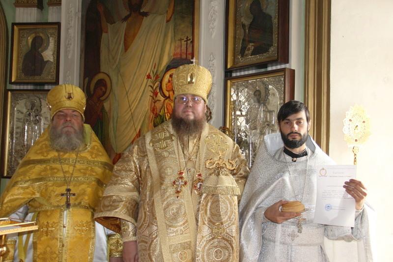Первое воскресенье Успенского поста. Епископ Петропавловский и Булаевский Владимир возглавил Божественную Литургию в Петропавловском соборе