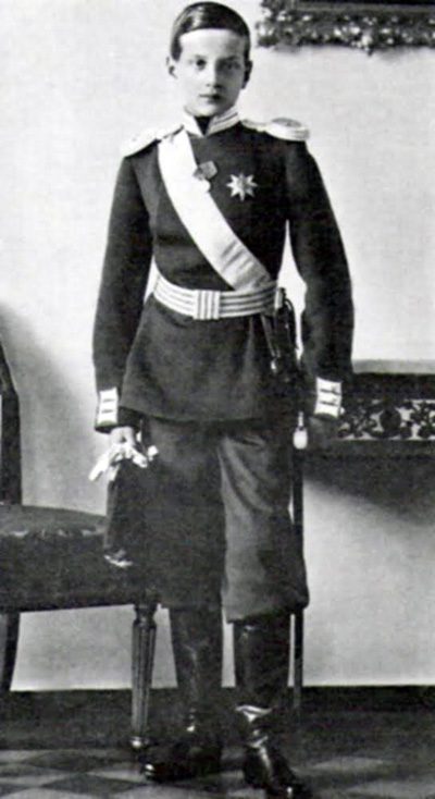 Великий князь Дмитрий Павлович, которого с 1905 года воспитывал Николай II. Фактически — приемный сын