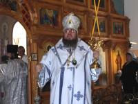 Божественная Литургия в храме Архистратига Божиего Михаила в селе Архангельское
