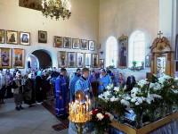 Торжественное богослужение со чтением акафиста Успению Пресвятой Богородицы