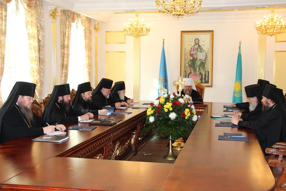 В столице Казахстана Астане состоялось заседание Синода Митрополичьего округа Русской Православной Церкви в Республике Казахстан