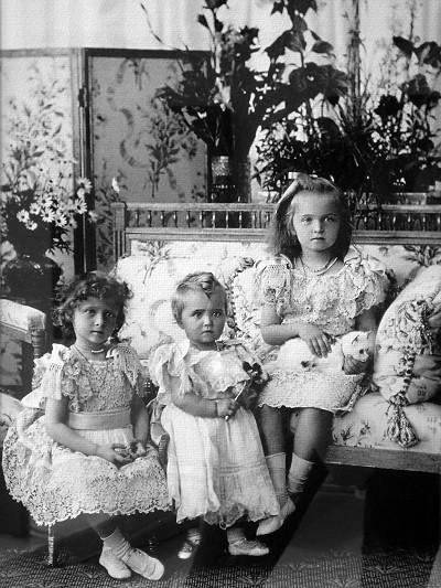 Воспитание дочерей в Царской семье