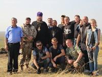 Перезахоронение останков жителей села Дуплянское