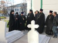 Молебен Симеону Верхотурскому перед ракой с его честными мощами