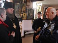 Правящий архиерей принял паломников из Свидницкой епархии Польши