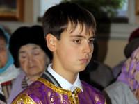 Правящий архиерей совершил Всенощное бдение под праздник Воздвижения Креста Господня