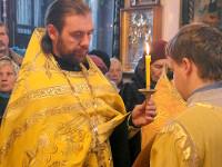 Епископ Петропавловский и Булаевский Владимир возглавил вечернее богослужение в храме Всех Святых города Петропавловска