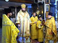 В храме Всех Святых была отслужена панихида по ныне поминаемому протоиерею Иоанну Блохину