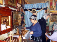 Престольный праздник в городе Таиынша