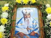 Преподобне Отче Севастиане моли Бога о нас. Божественная Литургия в кафедральном соборе Вознесения Господня