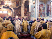 Правящий архиерей принял участие в торжествах в честь 60-летия преставления святителя Николая, митрополита Алма-Атинского и Казахстанского