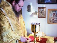 Преосвященнейший епископ Владимир совершил Божественную Литургию в храме великомученика Георгия Победоносца с. Соколовка
