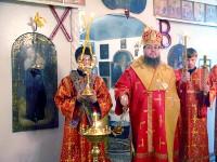 Воскресное всенощное бдение в храме преподобного Сергия Радонежского