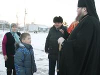 Престольный праздник в селе Тимирязево. Епископ Петропавловский и Булаевский Владимир возглавил Божественную Литургию